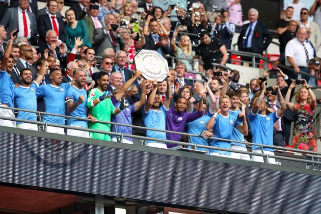 Manchester City v Liverpool - Community Shield - Wembley Stadium