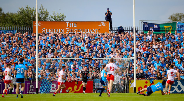 Dublin fans at the game