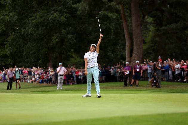AIG Women's British Open - Day Four - Woburn Golf Club