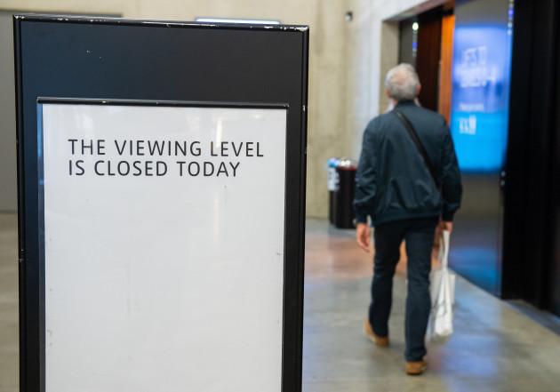 Tate modern fall incident