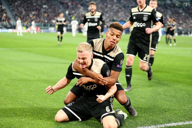 Juventus v Ajax - UEFA Champions League - Quarter Final - Second Leg - Allianz Stadium