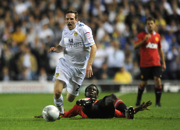 Soccer - Carling Cup - Third Round - Leeds United v Manchester United - Elland Road