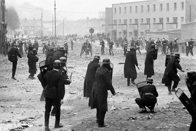 Northern Ireland - Bogside Riots