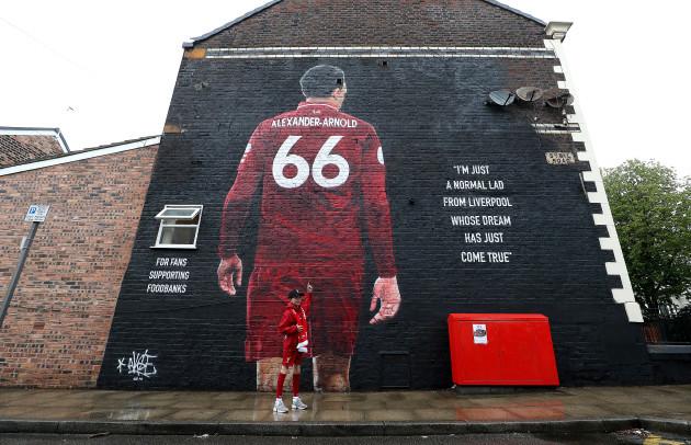 Liverpool v Norwich City - Premier League - Anfield