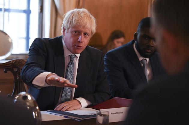 Boris Johnson holds roundtable on crime