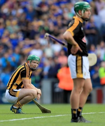 Paul Murphy and Eoin Murphy dejected