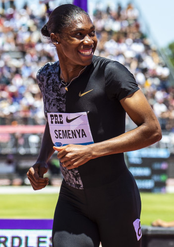 CA: Caster Semenya competes at Nike Prefontaine Classic JUN 30