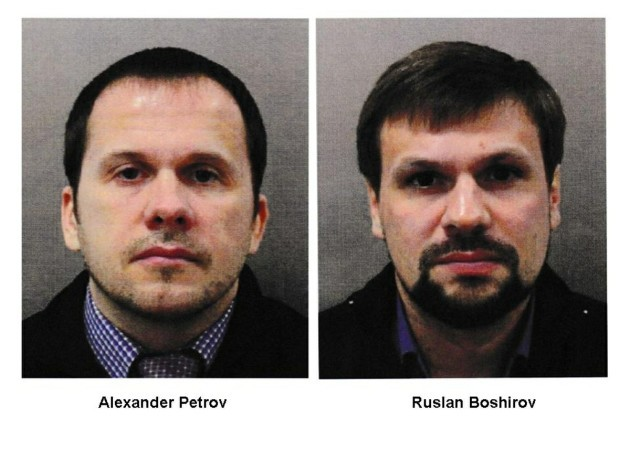 Two Russians Charged In Novichok Poisonings
