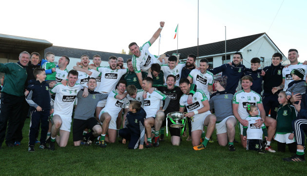 The Moorefield team celebrate