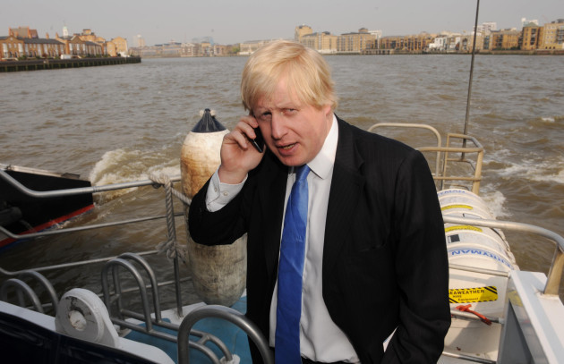 Boris Johnson announces Thames boat service