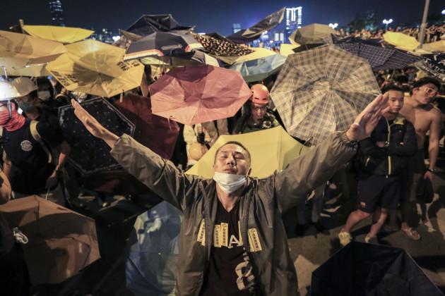 'Umbrella Revolution' Hong Kong Protests
