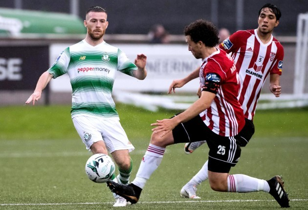 Barry McNamee and Jack Byrne