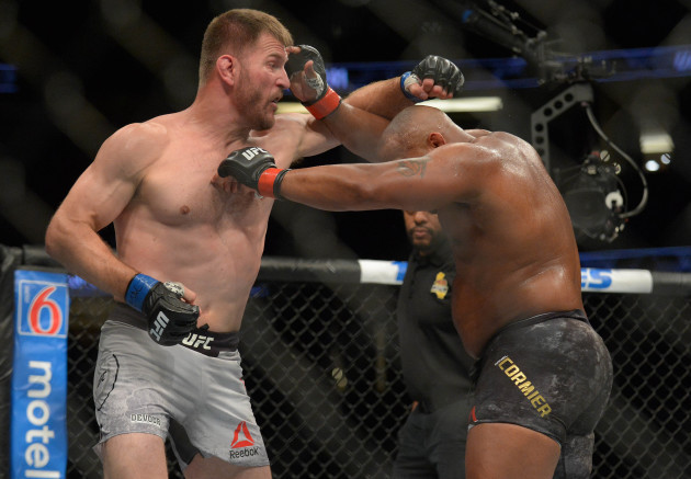 MMA: UFC 241-Cormier vs Miocic