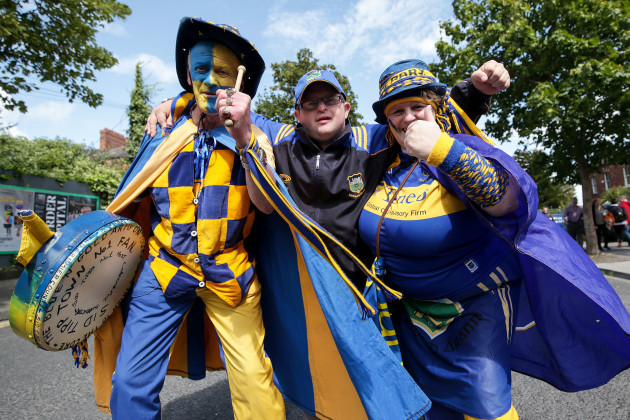 Tipperary fans before the game