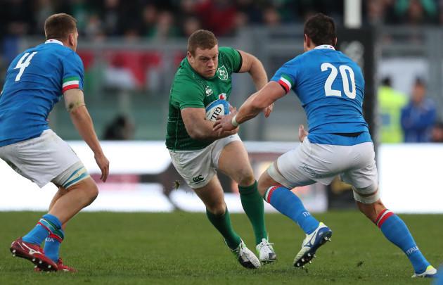 Ireland's Sean Cronin