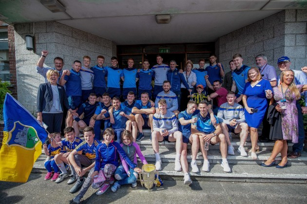 The Tipperary team at Crumlin Children's Hospital