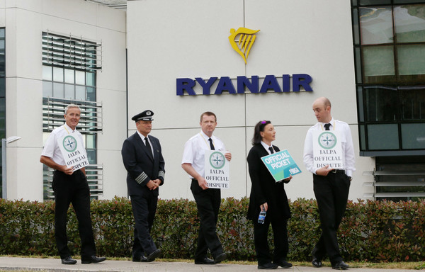 File Photo Will the Ryanair pilots strike go ahead on Thursday. End.