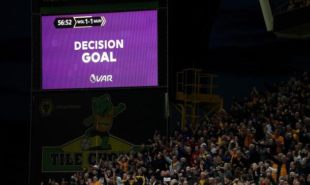 Wolverhampton Wanderers v Manchester United - Premier League - Molineux