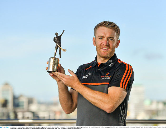 PwC GAA / GPA Player of the Month for August
