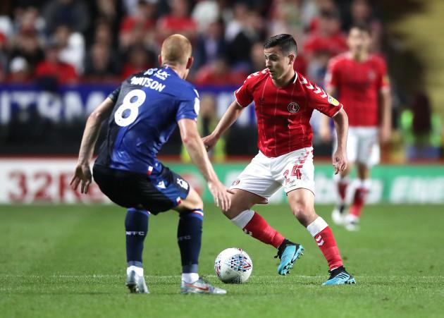 Charlton Athletic v Nottingham Forest - Sky Bet Championship - The Valley