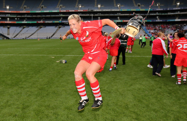 angela-walsh-celebrates-after-the-game