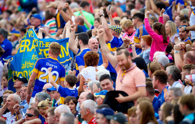tipperary-fans-celebrate-their-side-scoring-their-fourth-goal-in-the-first-10-mins