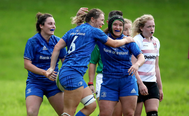 jamie-deacon-celebrates-scoring-a-try-with-rachel-horan-and-christina-haney