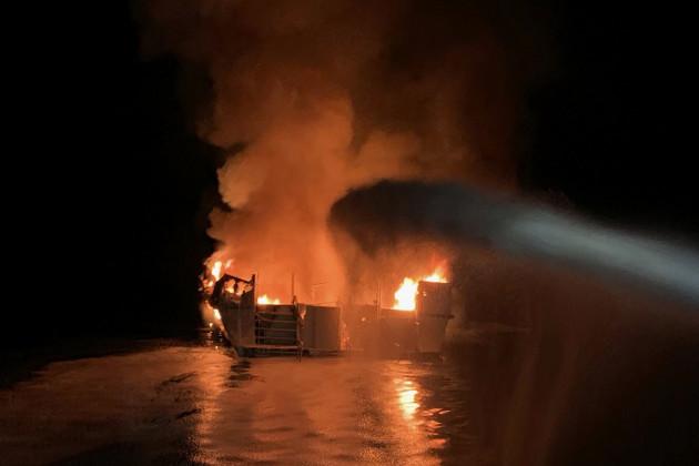 boat-fire-california