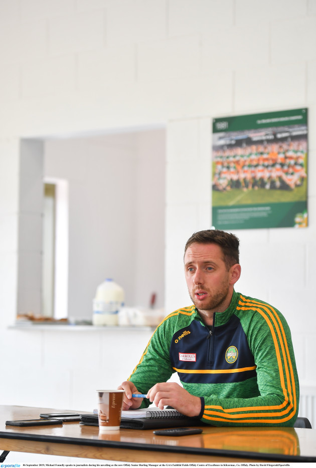 michael-fennelly-unveiled-as-new-offaly-senior-hurling-manager