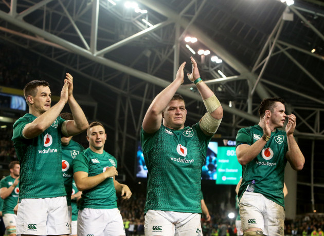 Rugby jonathan-sexton-tadhg-furlong-and-james-ryan-celebrate-after-the-game