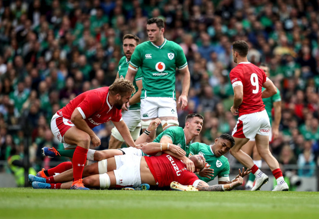Rugby ross-moriarty-and-tomas-francis-with-bundee-aki-jonathan-sexton-and-james-ryan