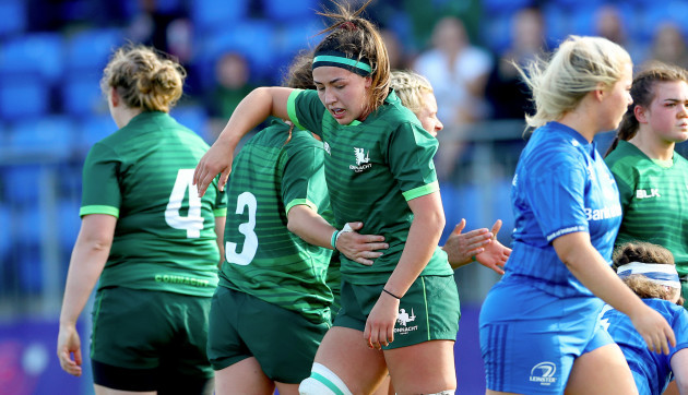 nichola-fryday-celebrates-her-side-winning-a-penalty-from-a-scrum