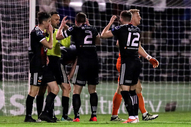 bohemians-players-reacts-to-a-decision-by-neil-doyle-in-the-final-seconds-of-the-game