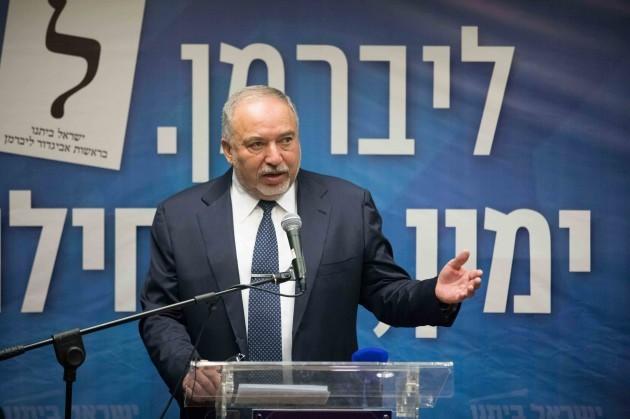 mideast-jerusalem-netanyahu-lieberman-parliament