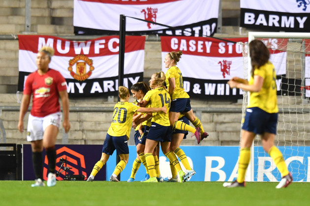 manchester-united-women-v-arsenal-women-barclays-fa-womens-super-league-leigh-valley-sports-park