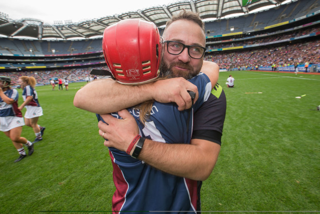 johnny-greville-celebrates-after-the-game-with-sheila-mcgrath