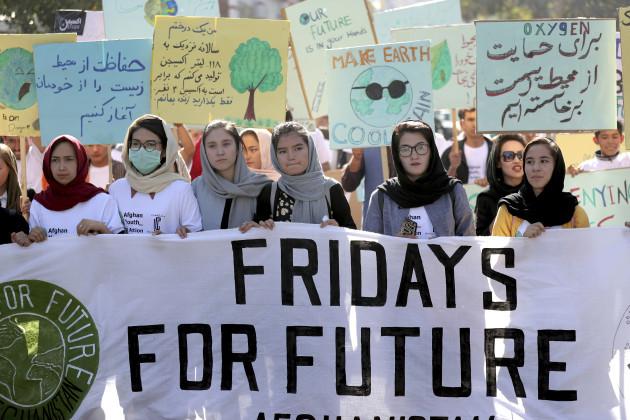 afghanistan-climate-strike