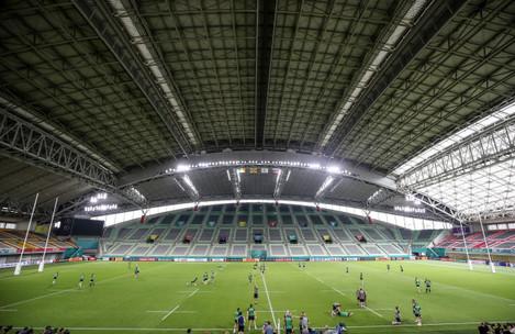 a-view-of-the-kobe-misaki-stadium-during-the-captains-run