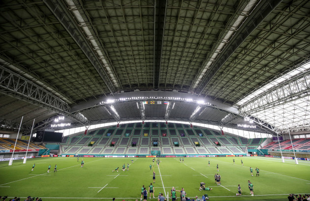 a-view-of-the-kobe-misaki-stadium-during-the-captains-run