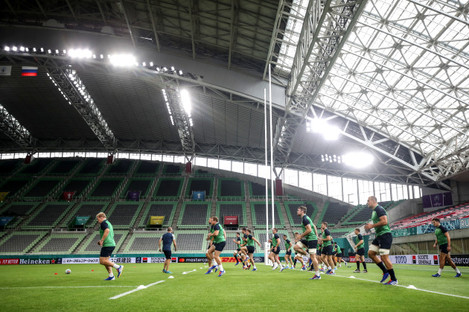 a-view-as-the-ireland-players-warm-up