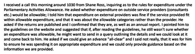 Shane Ross Email
