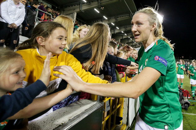 louise-quinn-celebrates-with-fans-after-the-game