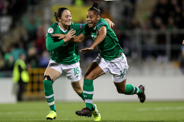 rianna-jarrett-celebrates-scoring-her-sides-second-goal-with-megan-campbell