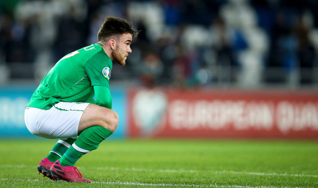 aaron-connolly-dejected-at-the-final-whistle