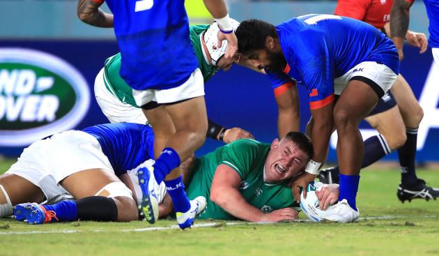 ireland-v-samoa-pool-a-2019-rugby-world-cup-fukuoka-hakatanomori-stadium