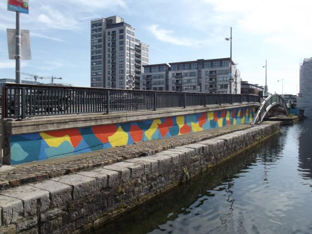 Mural McMahon Bridge Done Westside