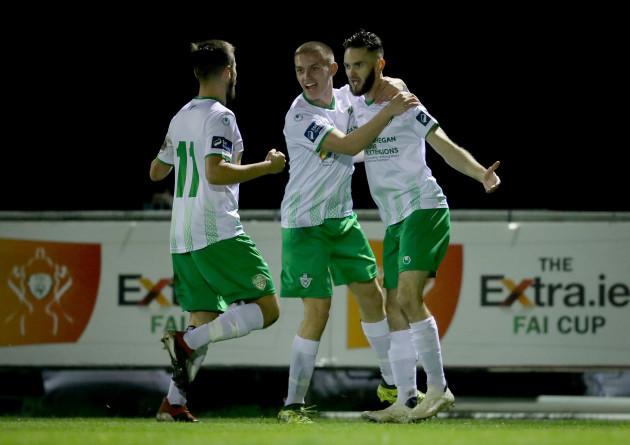 kieran-marty-waters-celebrates-scoring-a-goal-with-zak-oneil-and-paul-fox