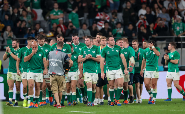 Rugby the-ireland-team-dejected-after-the-game