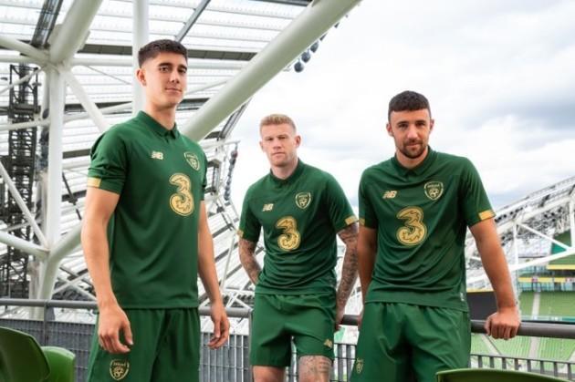 Ireland new home jersey