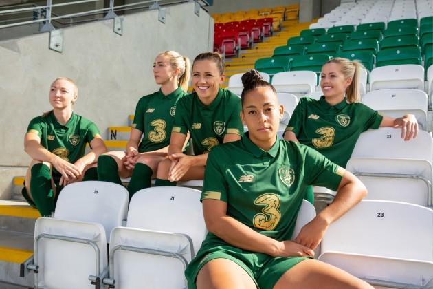 Ireland new home jersey women